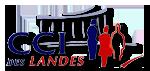 logo de la Chambre de Commerce et d'Industrie des Landes (CCI 40)
